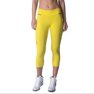 NEW Yellow ALALA Leggings